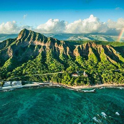A unique image of Oahu's majestic allure
