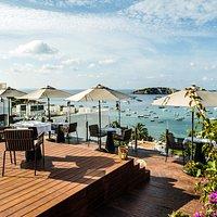 Views from the OD Sky Bar Restaurant