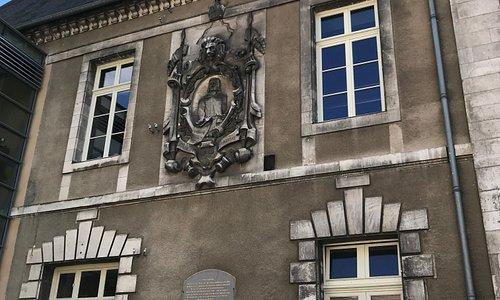 герб Eckmuhl на здании