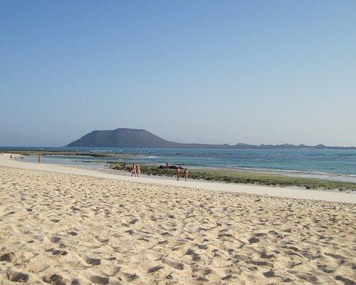 La spiaggia di Flag beach