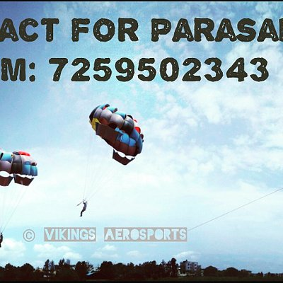 Enjoy Parasailing in Bangalore at 200 feet above the ground. It's worth trying it.