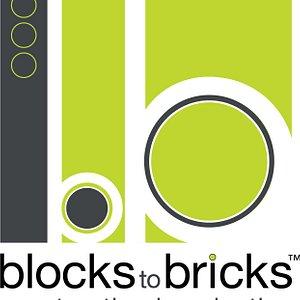 Blocks to Bricks logo