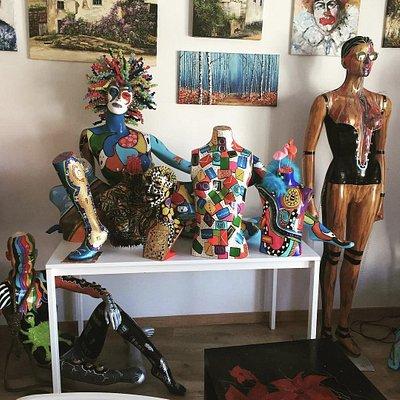 Art on Sunday  featuring #shazequin #maggimarello #sabrinamarello