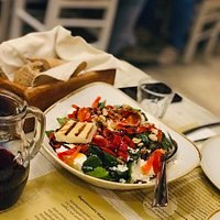 delicious authentic Greek food, small price