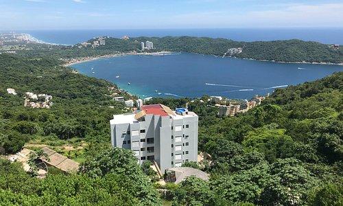 maravillosa vista de la bahía
