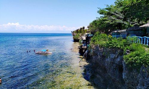 the length of Punta Diwata Beach