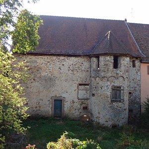 Les remparts à Bergheim