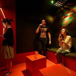 Salles privées de karaoké