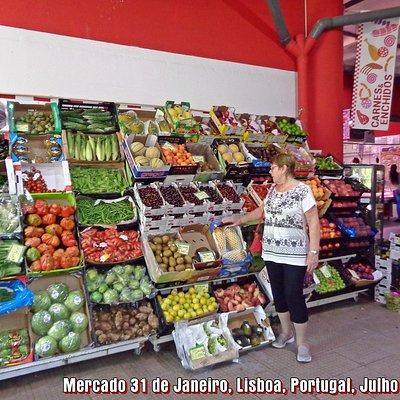 Mercado 31 de Janeiro, Lisboa, Portugal