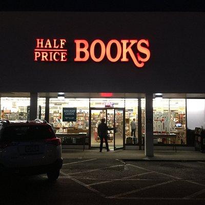 Half Price Books!