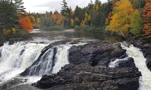 Grand Falls. Worth the hike for sure