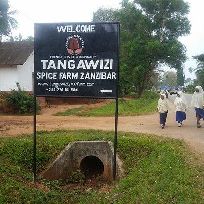 Tangawizi Spice Tours Entrance