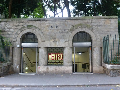 Paris, Metro Place Monge