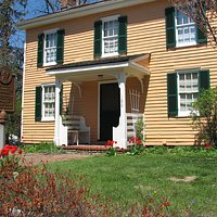 You can learn about the Underground Railroad at Hanby House.