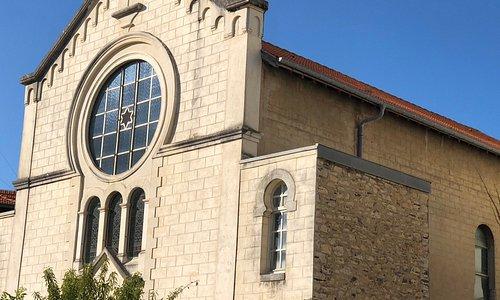 La synagogue de Biarritz