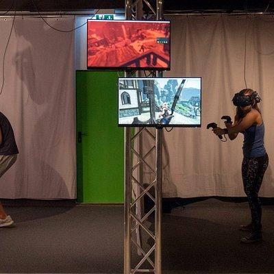 VR in Mannheim - im Multiplayer am besten!
