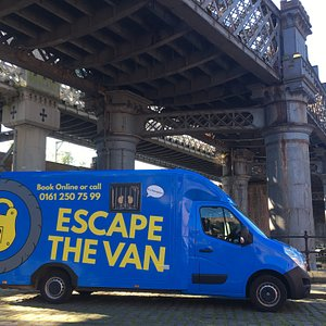 Escape The Van in Castlefield, central Manchester