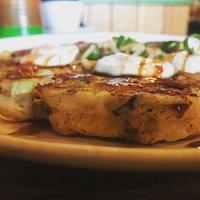 Okonomiyaki - savoury Japanese pancakes