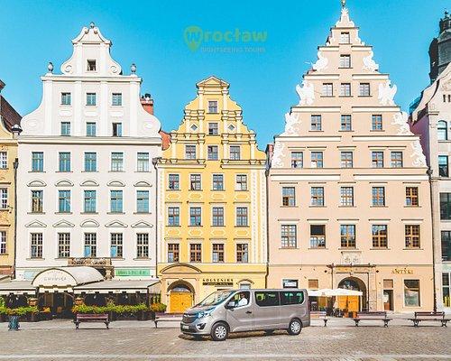 Wroclaw's market square