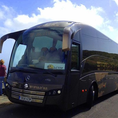 One of the coaches we use on our excursions