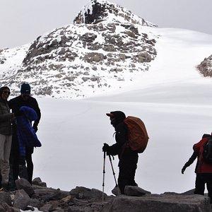 Nevado Santa Isabel, borde glaciar 4700 msnm. ¡Vive esta gran aventura!