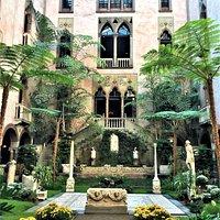 Atrium of the Isabella Gardner Museum