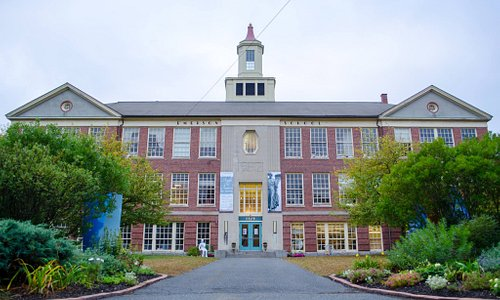 The historic Emerson School, now undergoing major renovation, houses a vibrant arts community