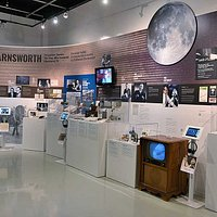 Philo Farnsworth Display in MZTV Museum of televison