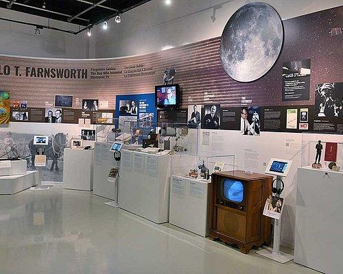 Philo Farnsworth Display in MZTV Museum of televison