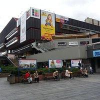 DKB shopping centre full view from far.