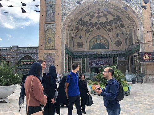Imam Khomeini mosque,Tehran, autumn 2018