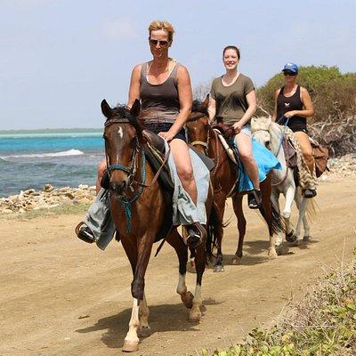 Horsebackriding Bonaire