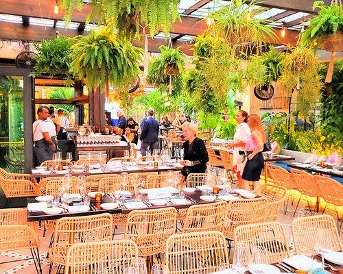 Interior del restaurante Vista donde fue la cena