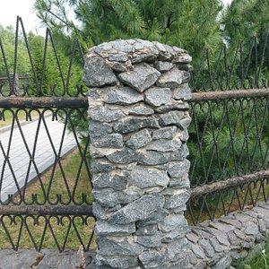 Фрагмент ограды часовни