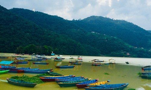 Truely scenic Nepal -Pokra Fewa lake