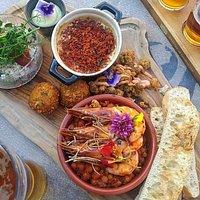 Seafood Sharing Board.