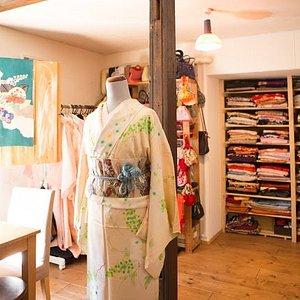 otomenokimono in otaru kimono rentaru