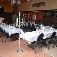 Hochzeitsfoto Innenraum Dekoration