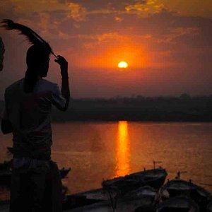 early morning ganga aarti