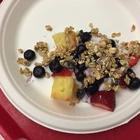 yogurt, fruit and granola