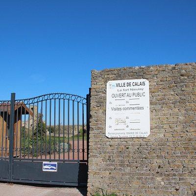 Toeganspoort tot fort Nieulay