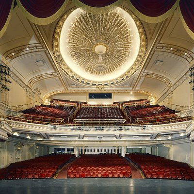 Capitol Theatre - stage to house.