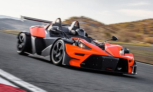 KTM X-BOW driving experiences - now available at Simraceway performance driving center