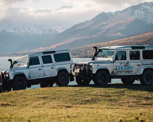 Land Rover Defenders - Travel in style and charm through The Mackenzie High Country