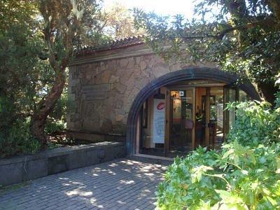 Entrada del Centro de Visitantes