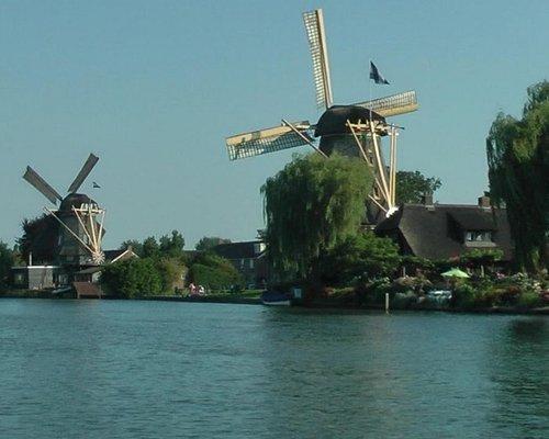 Windmills in the Dutch Landscape