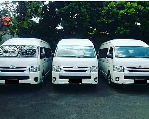 Micro Bus 15 seats (Toyota hiace) is comfortable for traveling around Bali, with air conditionin