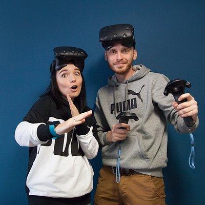 Ми Люба і Борис - ваші провідники в світі VR :)