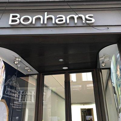 Bonham's New Bond Street Office London