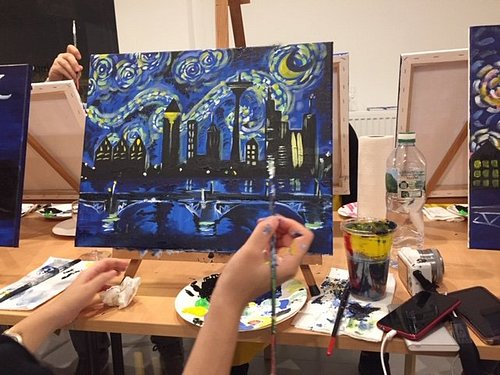 Paint the town in Frankfurt